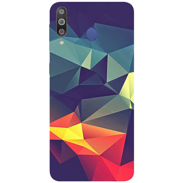 Geometric Samsung Galaxy M30 Back Cover-Hamee India