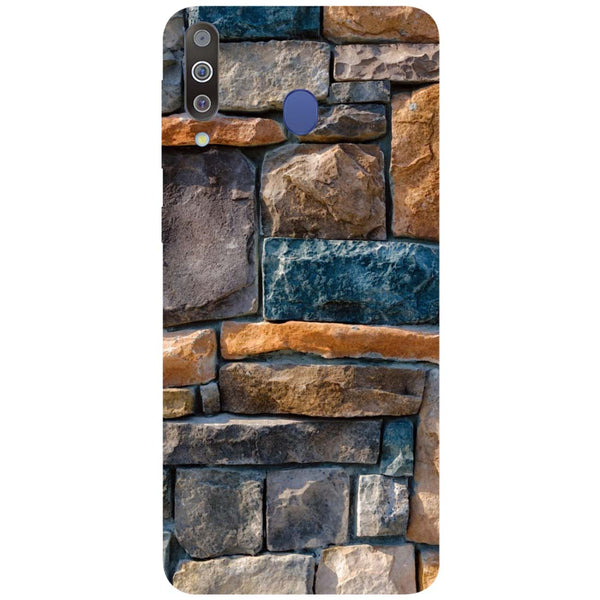 Bricks Samsung Galaxy M30 Back Cover-Hamee India