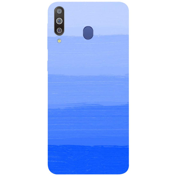 Blue Samsung Galaxy M30 Back Cover-Hamee India