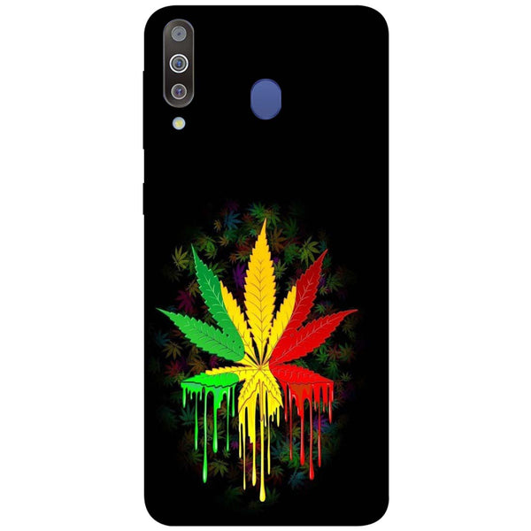 Rasta Samsung Galaxy M30 Back Cover-Hamee India