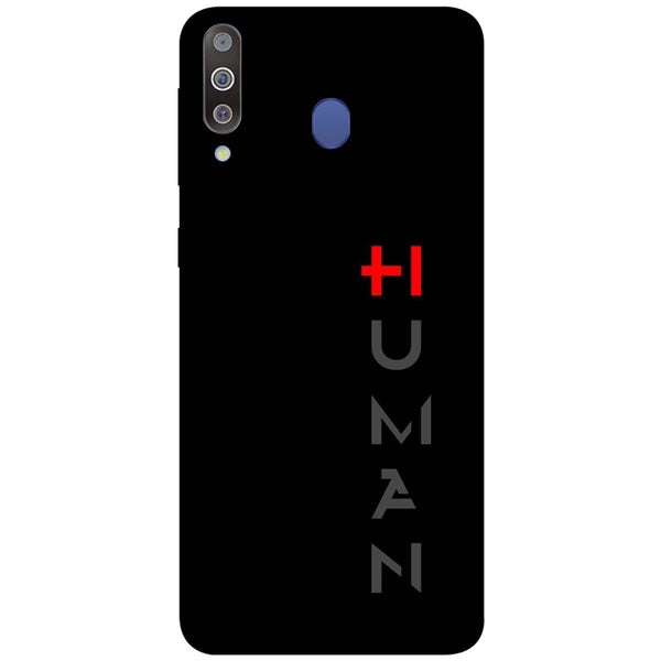 Human Samsung Galaxy M30 Back Cover-Hamee India