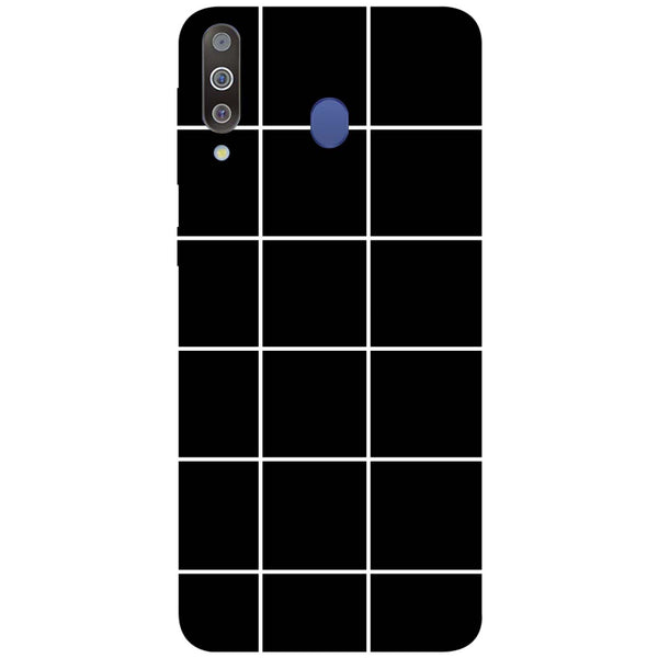 Checks Samsung Galaxy M30 Back Cover-Hamee India