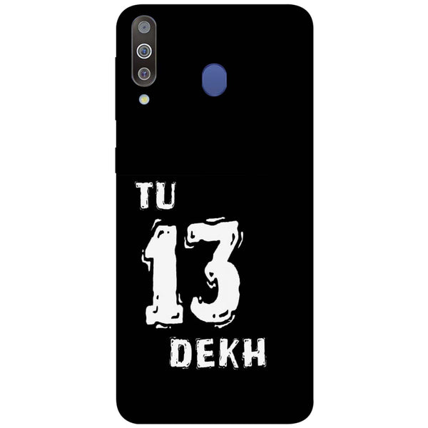 Tu Samsung Galaxy M30 Back Cover-Hamee India