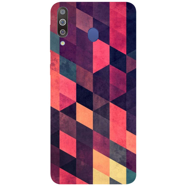 Pink Shades Samsung Galaxy M30 Back Cover-Hamee India