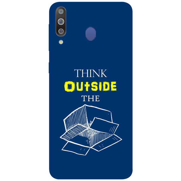 Think Samsung Galaxy M30 Back Cover-Hamee India