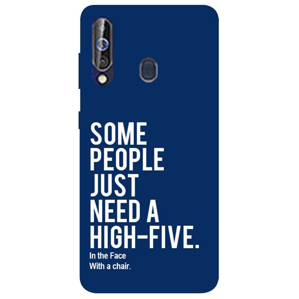 High Five Samsung Galaxy M40 Back Cover-Hamee India