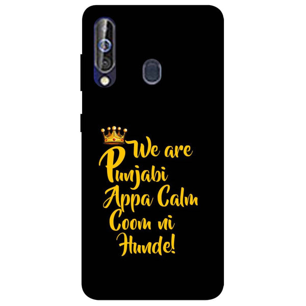 Punjabi Samsung Galaxy M40 Back Cover-Hamee India