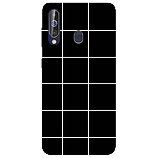 Checks Samsung Galaxy M40 Back Cover-Hamee India