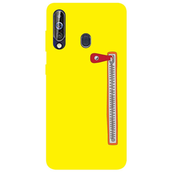 Zip Samsung Galaxy M40 Back Cover-Hamee India
