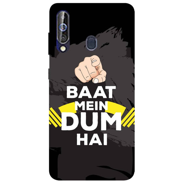 Dum Samsung Galaxy M40 Back Cover-Hamee India