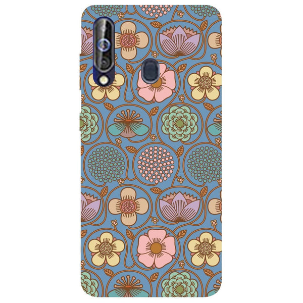 Flowers Samsung Galaxy M40 Back Cover-Hamee India