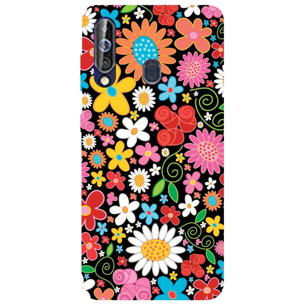 Bloom Samsung Galaxy M40 Back Cover-Hamee India