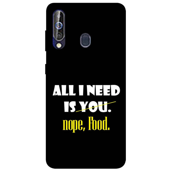Food Samsung Galaxy M40 Back Cover-Hamee India
