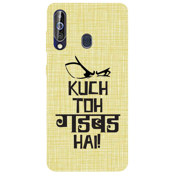 Gadbad Samsung Galaxy M40 Back Cover-Hamee India