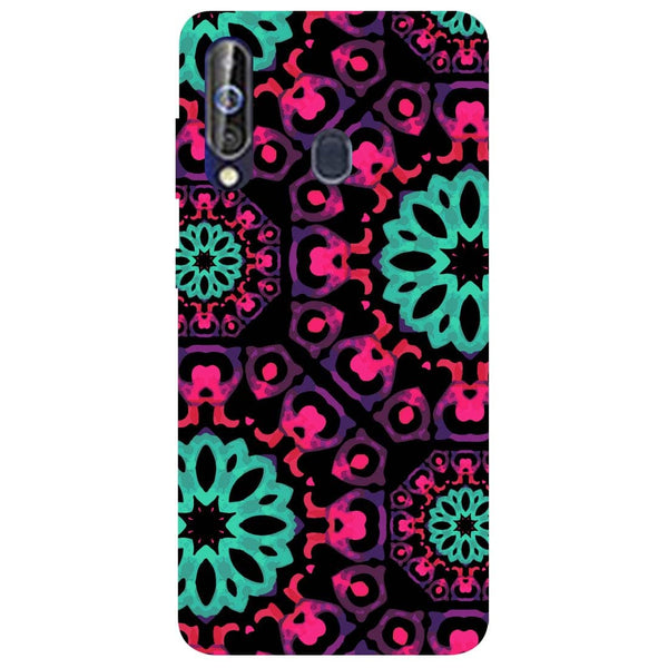 Mandala Print Samsung Galaxy M40 Back Cover-Hamee India