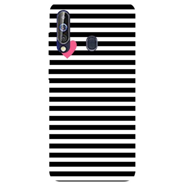 Stripes Samsung Galaxy M40 Back Cover-Hamee India