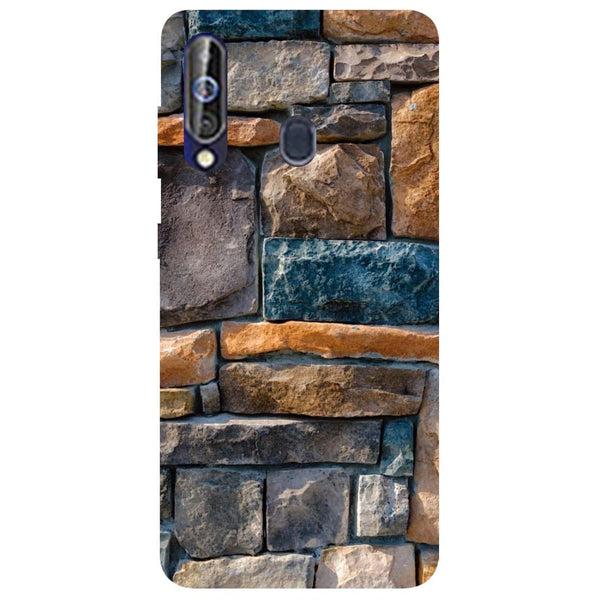 Bricks Samsung Galaxy M40 Back Cover-Hamee India