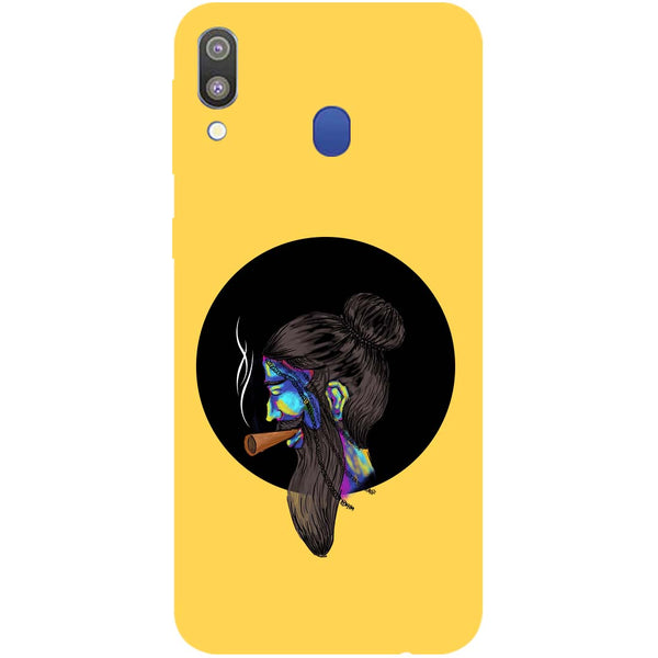 Bright Beard Samsung Galaxy M20 Back Cover-Hamee India