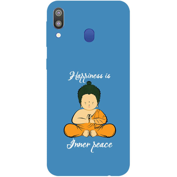 Inner Peace Samsung Galaxy M20 Back Cover-Hamee India