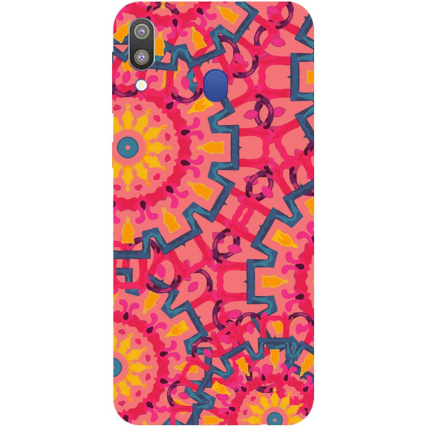 Mandalas Samsung Galaxy M20 Back Cover-Hamee India
