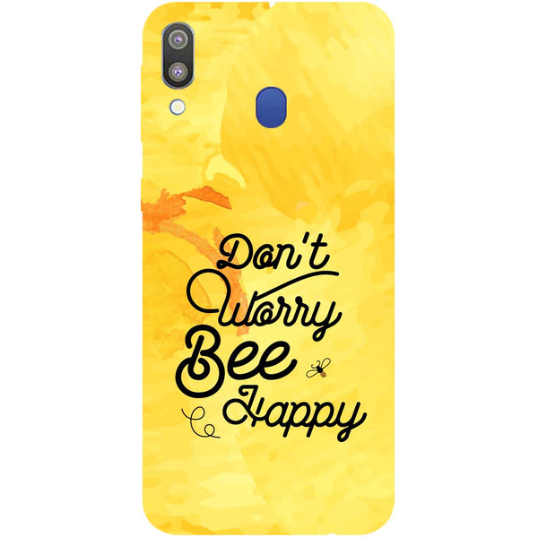 Bee Happy Samsung Galaxy M20 Back Cover-Hamee India