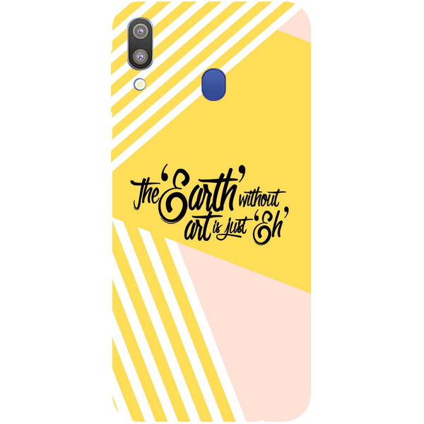 Earth Art Samsung Galaxy M20 Back Cover-Hamee India