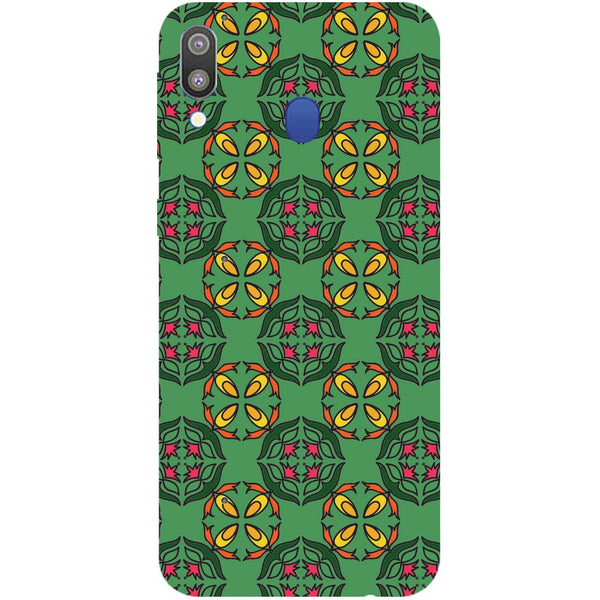 Ethnic Motif Samsung Galaxy M20 Back Cover-Hamee India