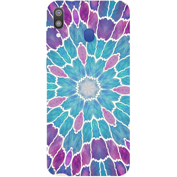 Mosaic Samsung Galaxy M20 Back Cover-Hamee India