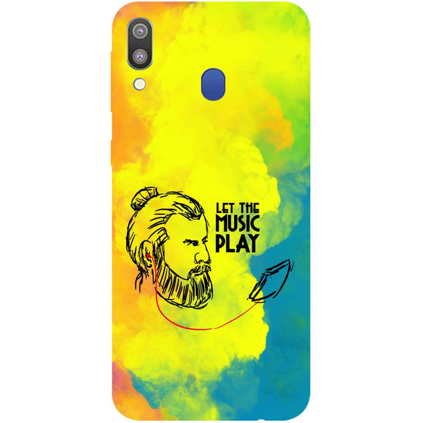 Beard Music Samsung Galaxy M20 Back Cover-Hamee India
