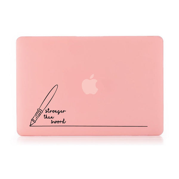 "Stronger Than Sword - Pink MacBook Air 13"" Retina (2018) Cover"