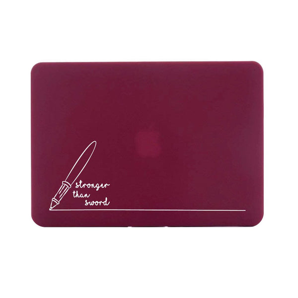 "Stronger Than Sword - Red MacBook Air 13"" Retina (2018) Cover"