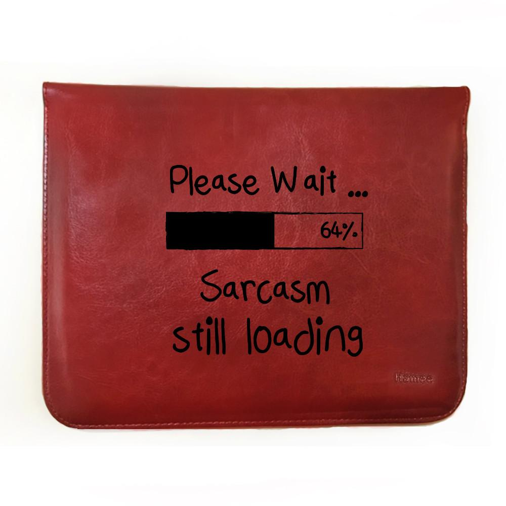 Sarcasm Loading - Tablet Case for iBall Slide Mania (8 inch)-Hamee India