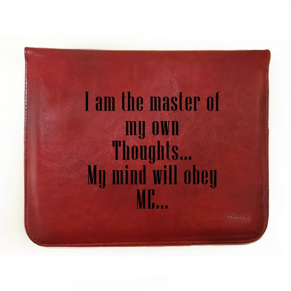 My Mind Obeys Me - Tablet Case for One by Wacom CTL 472/K0-CX (small)-Hamee India