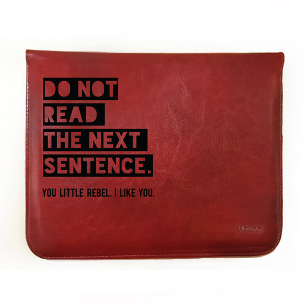 Hamee - Do Not Read - Tablet Case for Micromax Canvas Tab P701 Tablet (7 inch)-Hamee India
