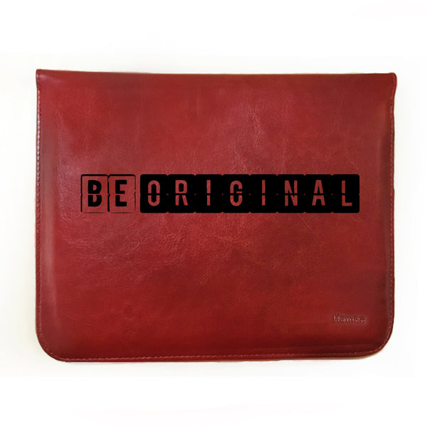 "Hamee Tan Brown Leather Tablet Case for Samsung Tab A SM-T355YZWA Tablet (8 inch) ""Be Original"""