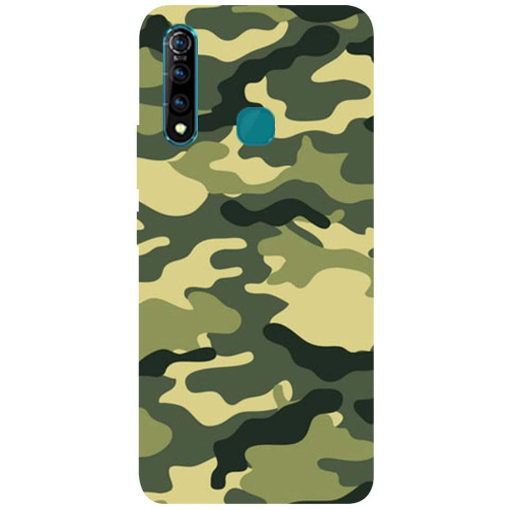 Green Camouflage Vivo Z1 Pro Back Cover