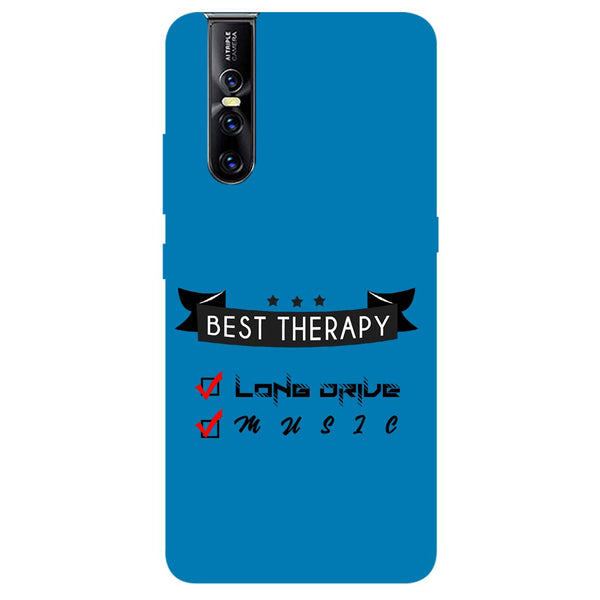 Therapy Vivo V15 Pro Back Cover-Hamee India