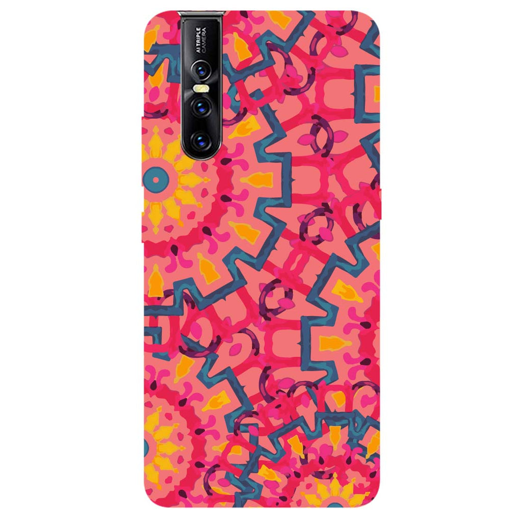Mandalas Vivo V15 Pro Back Cover-Hamee India