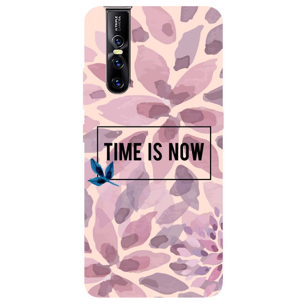 Time Is Now Vivo V15 Pro Back Cover-Hamee India