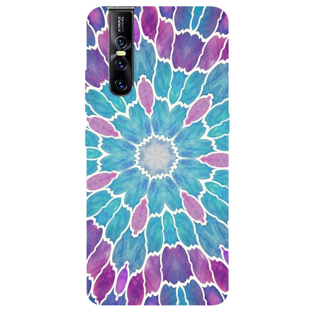 Mosaic Vivo V15 Pro Back Cover-Hamee India