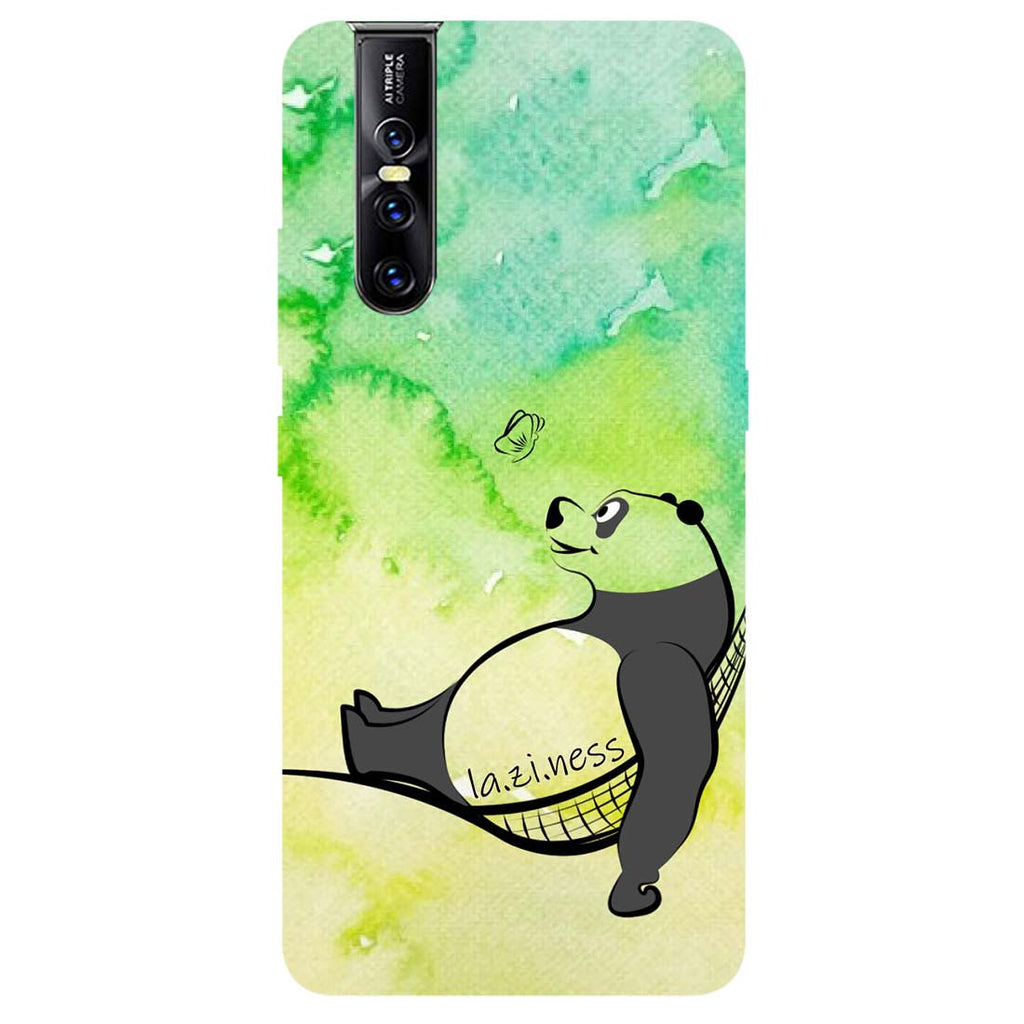 Laziness Vivo V15 Pro Back Cover-Hamee India
