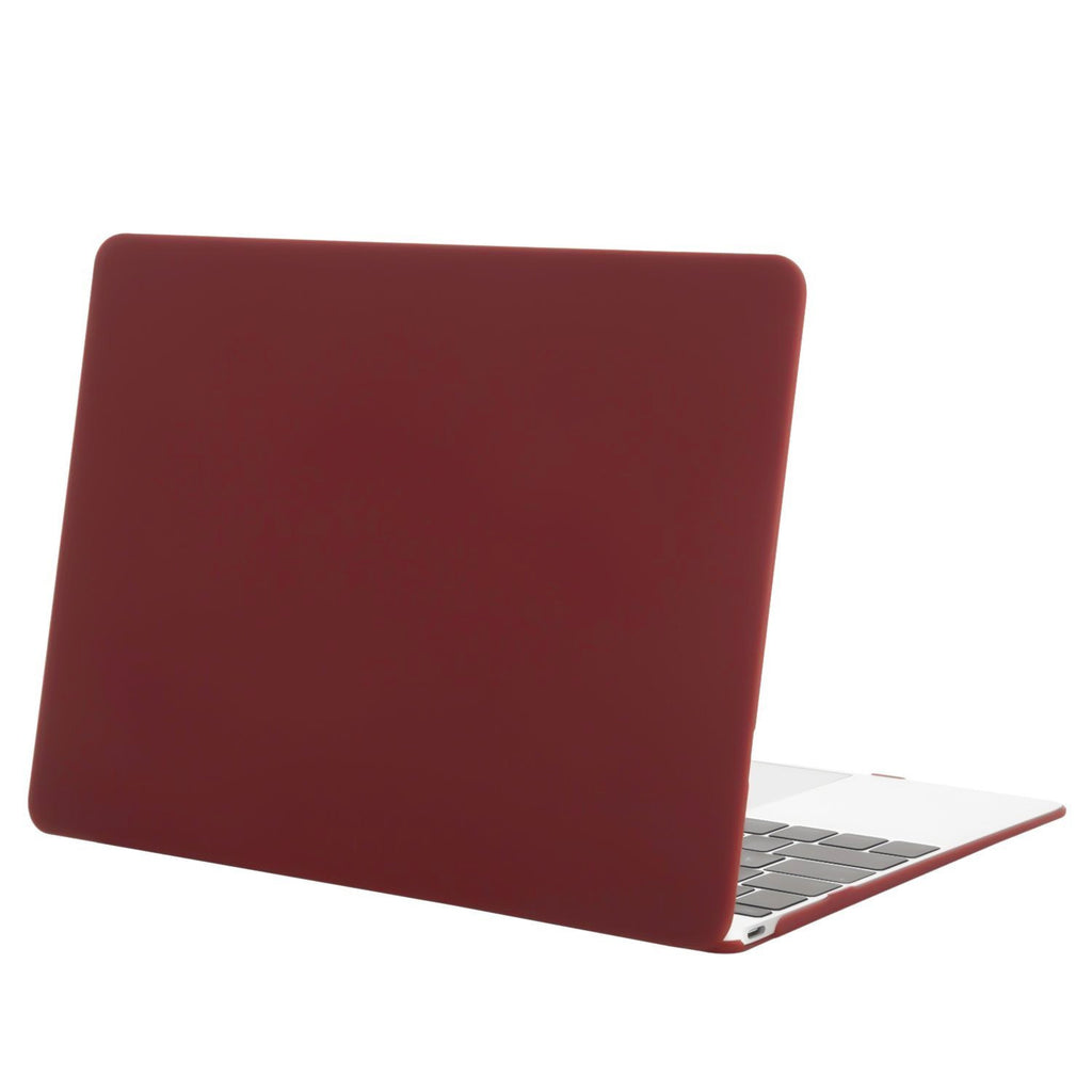 "Wine Red Macbook Air 13"" (A1466) Cover-Hamee India"