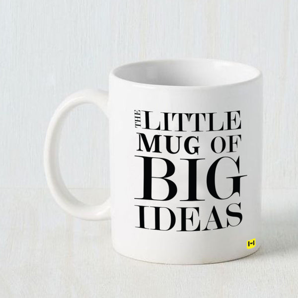 Hamee - Big Ideas - White Coffee Mug