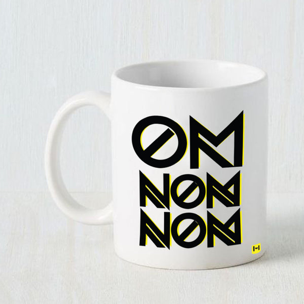 Om - White Coffee Mug-Hamee India