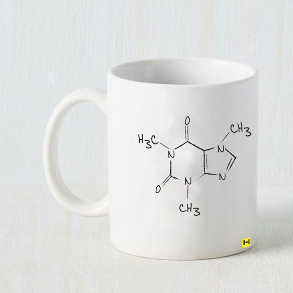 Hamee -Chemistry- White Coffee Mug-Hamee India