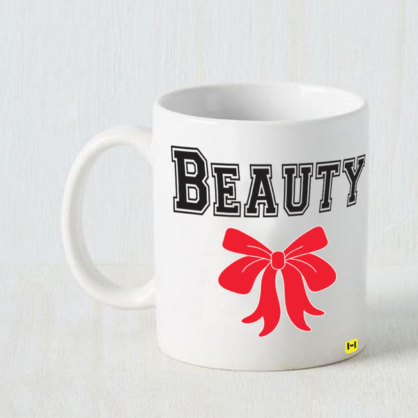Hamee -Beauty- White Coffee Mug-Hamee India