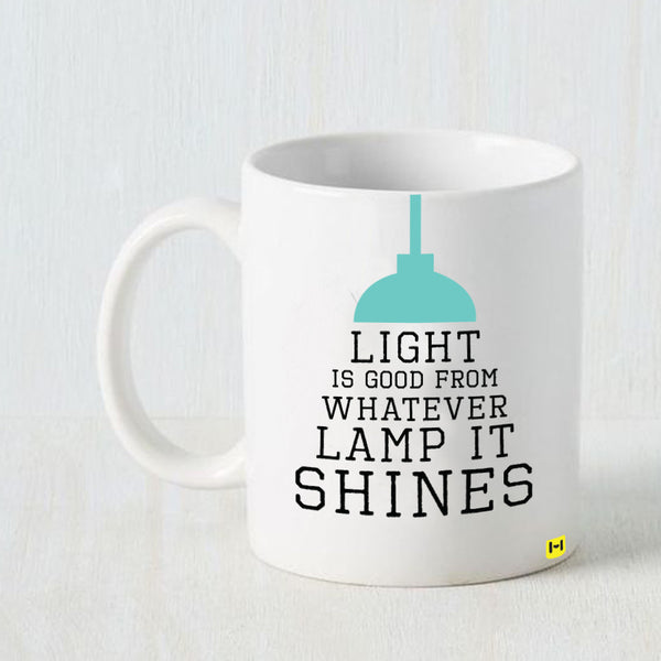 Hamee - Light - White Coffee Mug - Hamee India