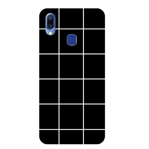 Checks Vivo Y95 Back Cover-Hamee India