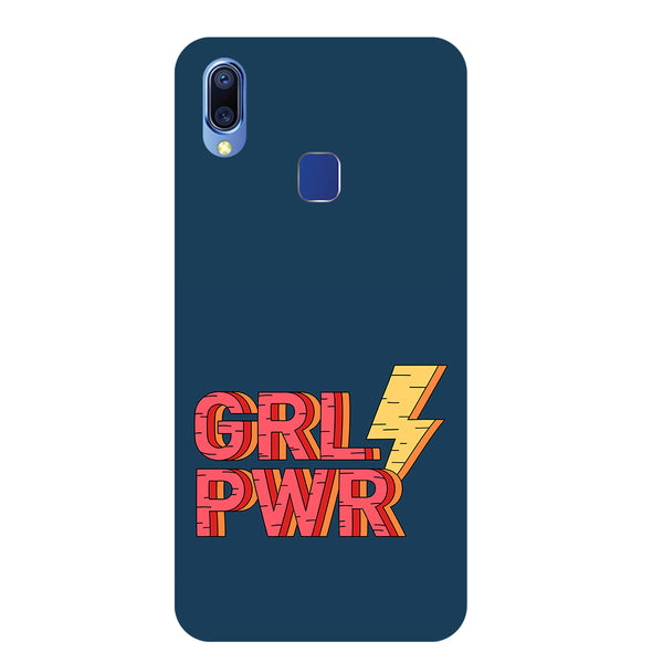 Grl Pwr Vivo Y95 Back Cover-Hamee India