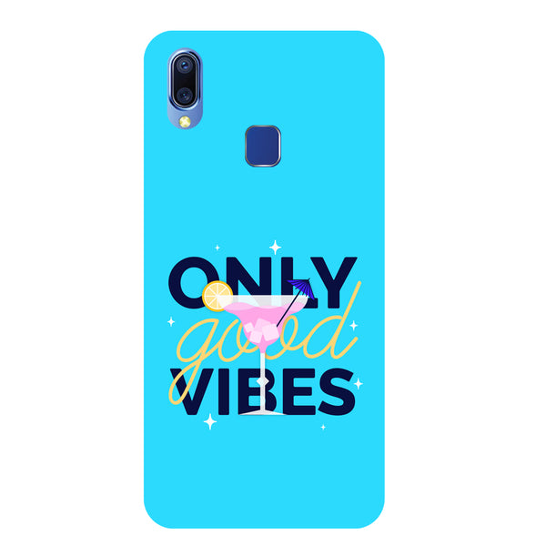 Good Vibes Vivo Y95 Back Cover-Hamee India